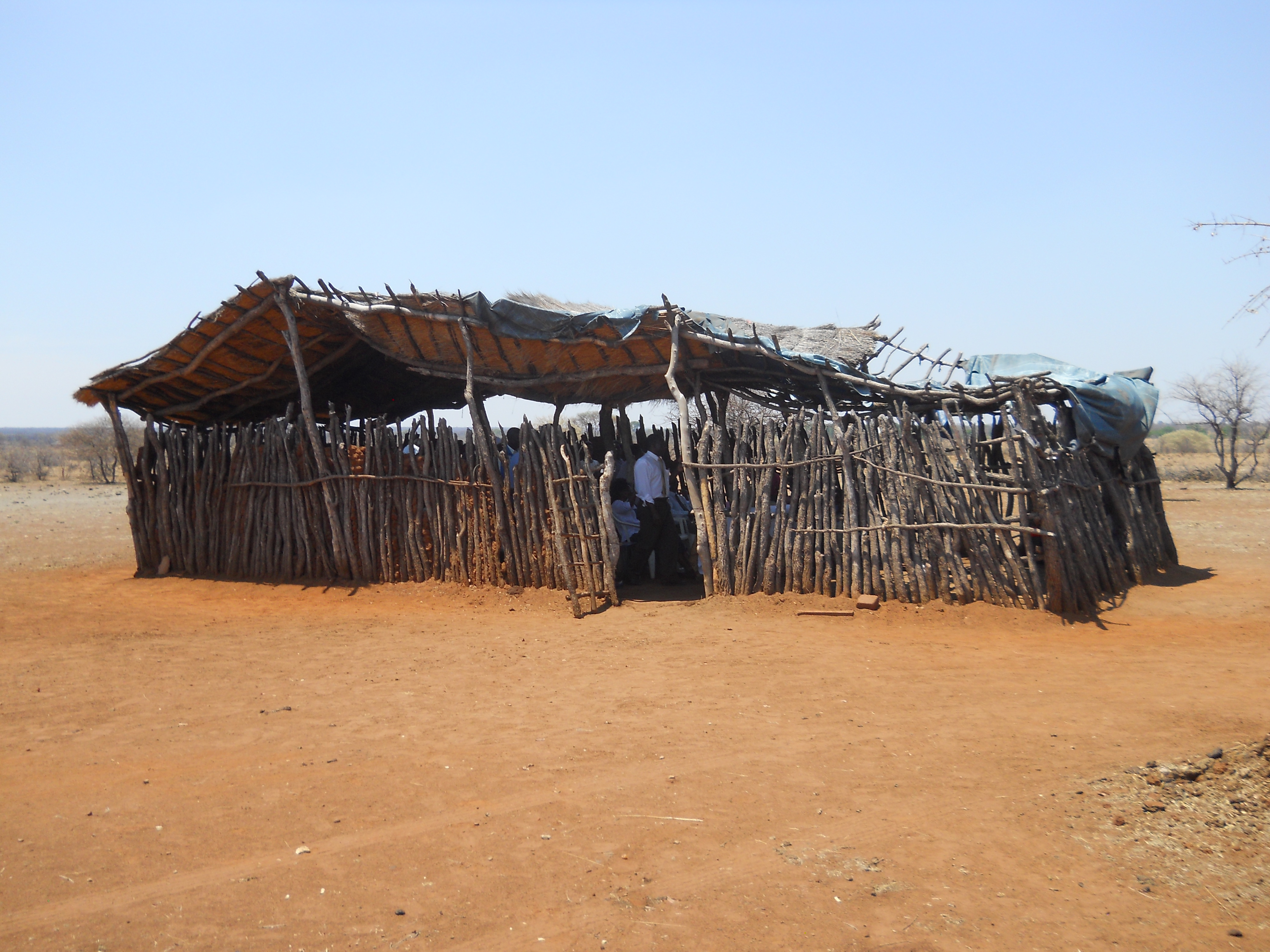 Glad Tidings Church in the rural areas, Zimbabwe